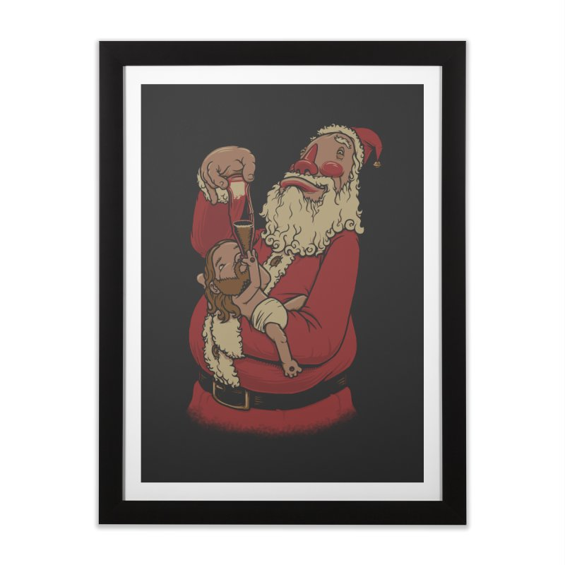 Modern Spirit of Christmas Home Framed Fine Art Print by joshbillings's Artist Shop
