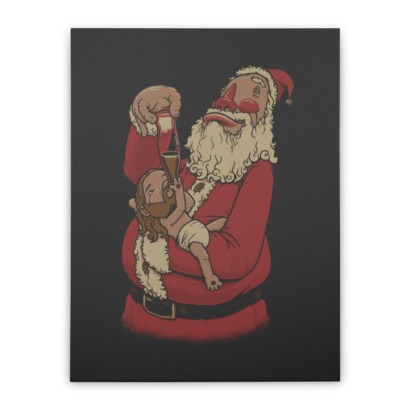 Modern Spirit of Christmas Home Stretched Canvas by joshbillings's Artist Shop