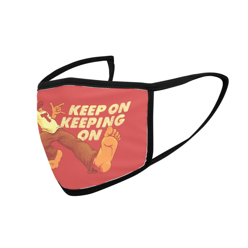 Keep On Accessories Face Mask by joshbillings's Artist Shop