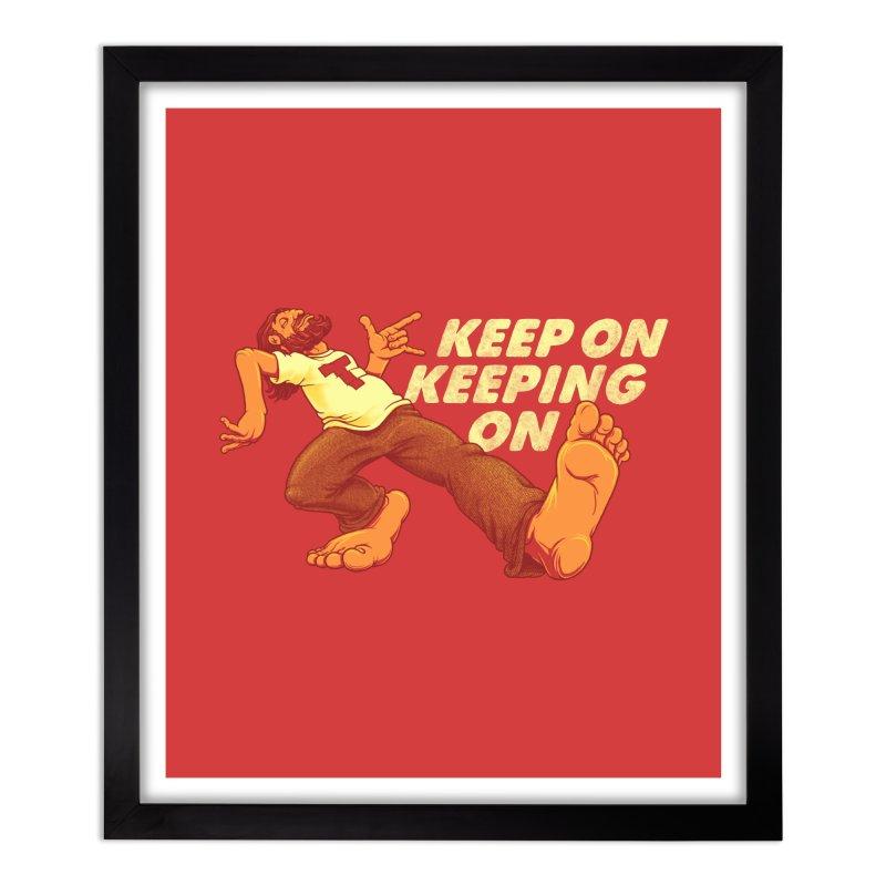 Keep On Home Framed Fine Art Print by joshbillings's Artist Shop