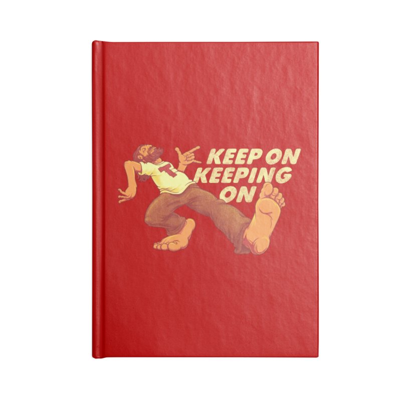 Keep On Accessories Notebook by joshbillings's Artist Shop