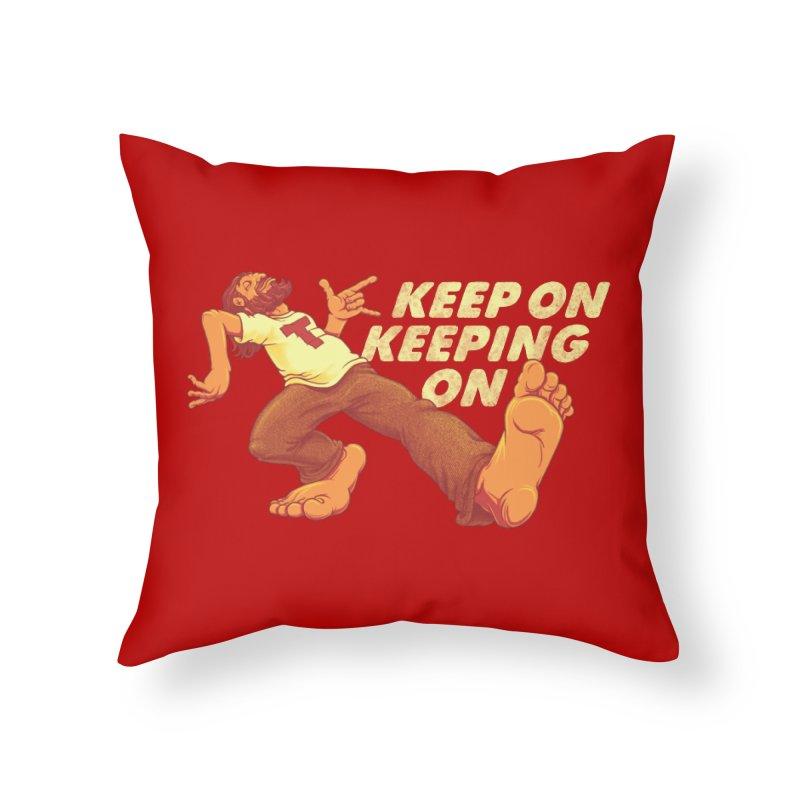 Keep On Home Throw Pillow by joshbillings's Artist Shop