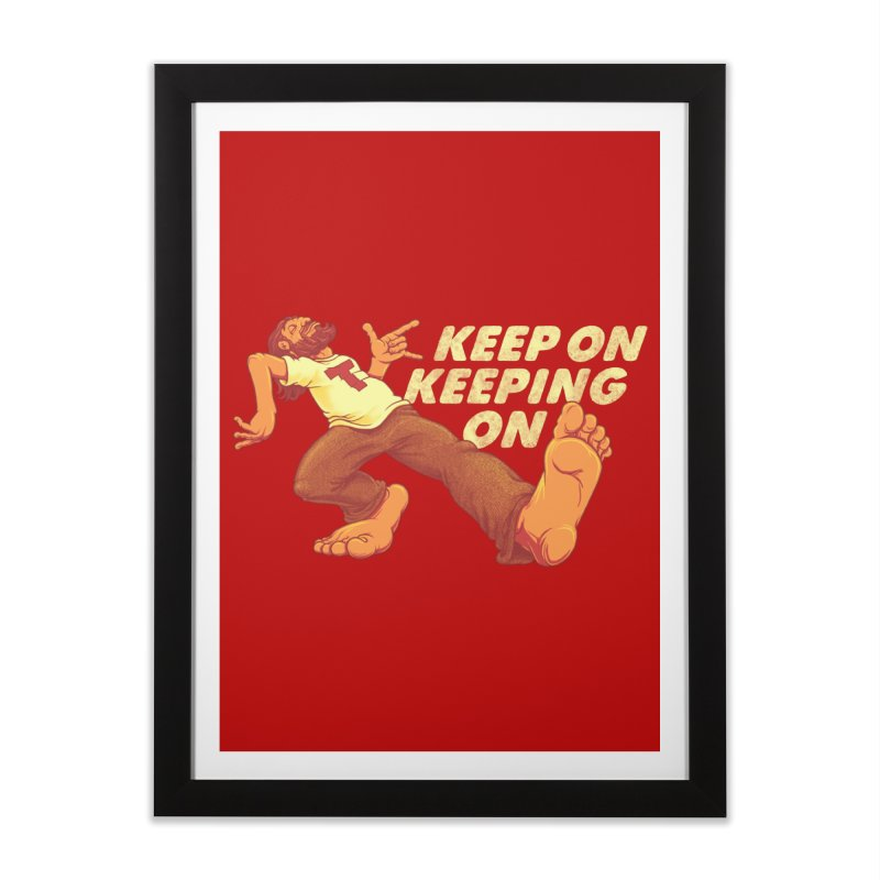Keep On Home Framed Fine Art Print by joshbillings's Artist Shop