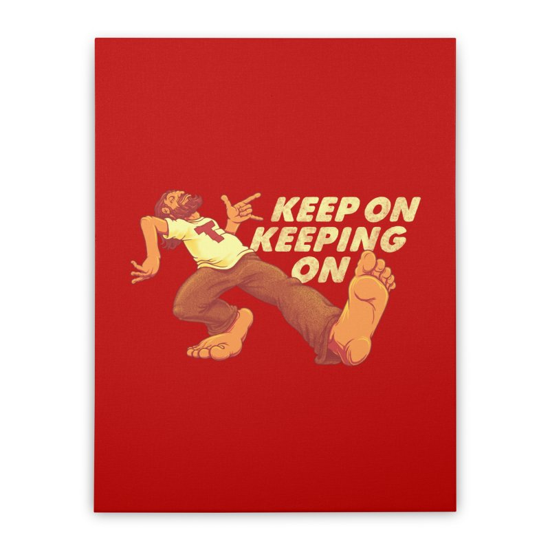 Keep On Home Stretched Canvas by joshbillings's Artist Shop