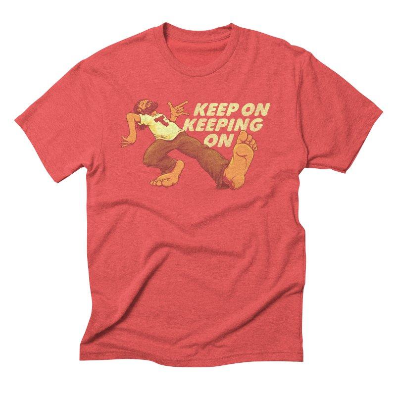 Keep On Men's T-Shirt by joshbillings's Artist Shop