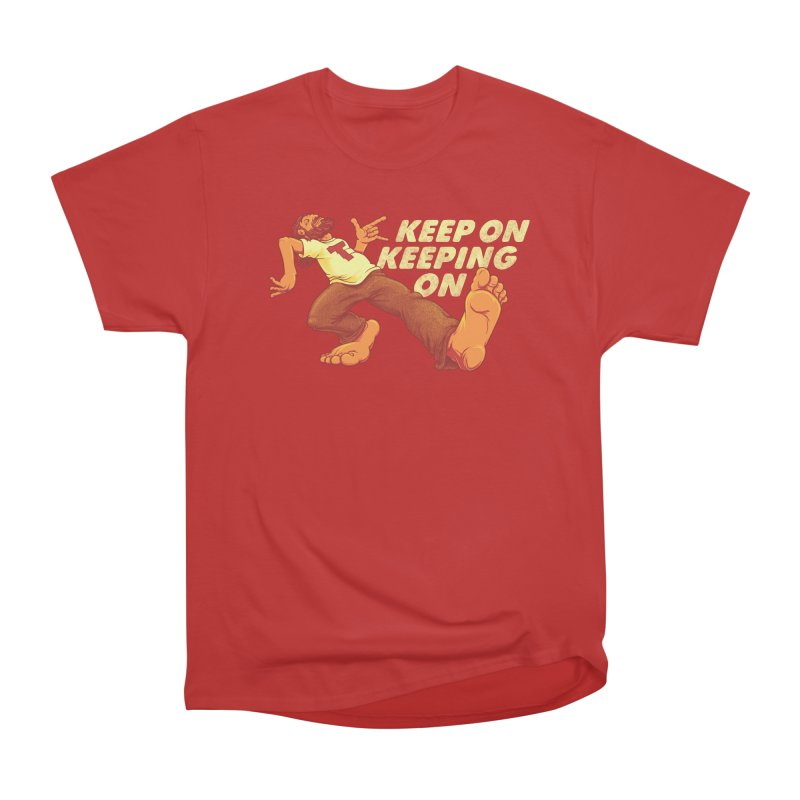 Keep On Men's Heavyweight T-Shirt by joshbillings's Artist Shop