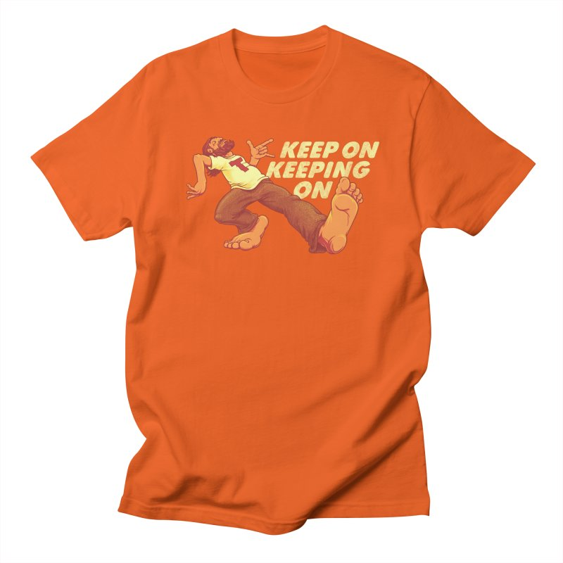 Keep On Men's T-Shirt by joshbillings's Artist Shop