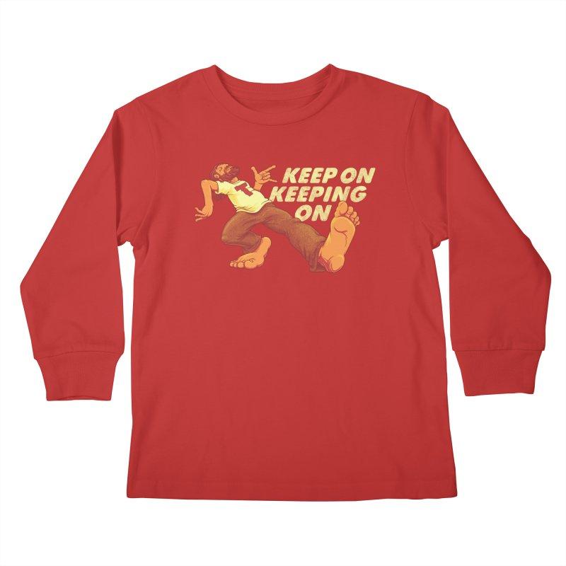 Keep On Kids Longsleeve T-Shirt by joshbillings's Artist Shop