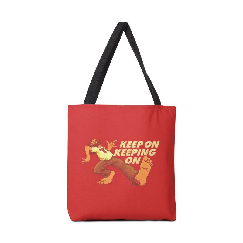 Keep On Accessories Bag by joshbillings's Artist Shop