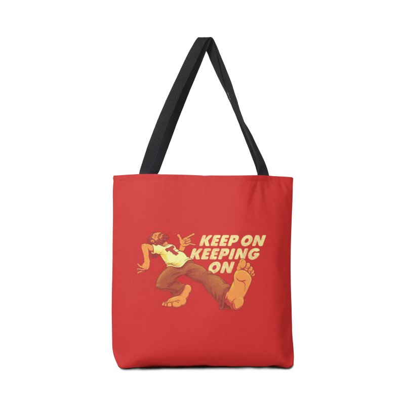 Keep On Accessories Tote Bag Bag by joshbillings's Artist Shop