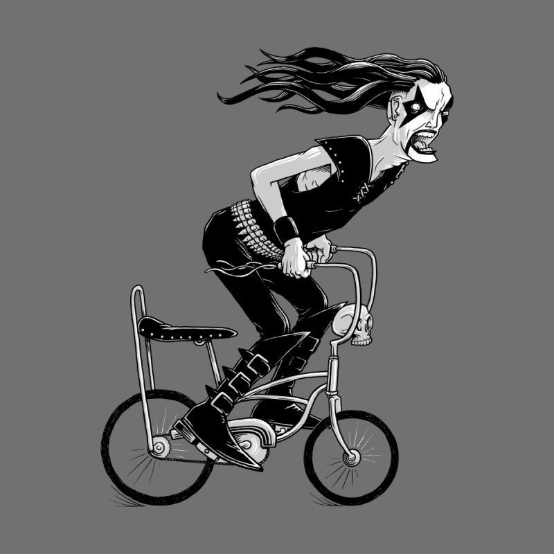 Metal to the Pedal Women's Longsleeve T-Shirt by joshbillings's Artist Shop