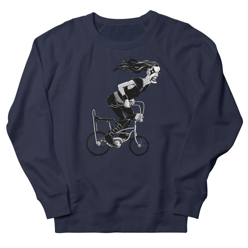 Metal to the Pedal Men's French Terry Sweatshirt by joshbillings's Artist Shop