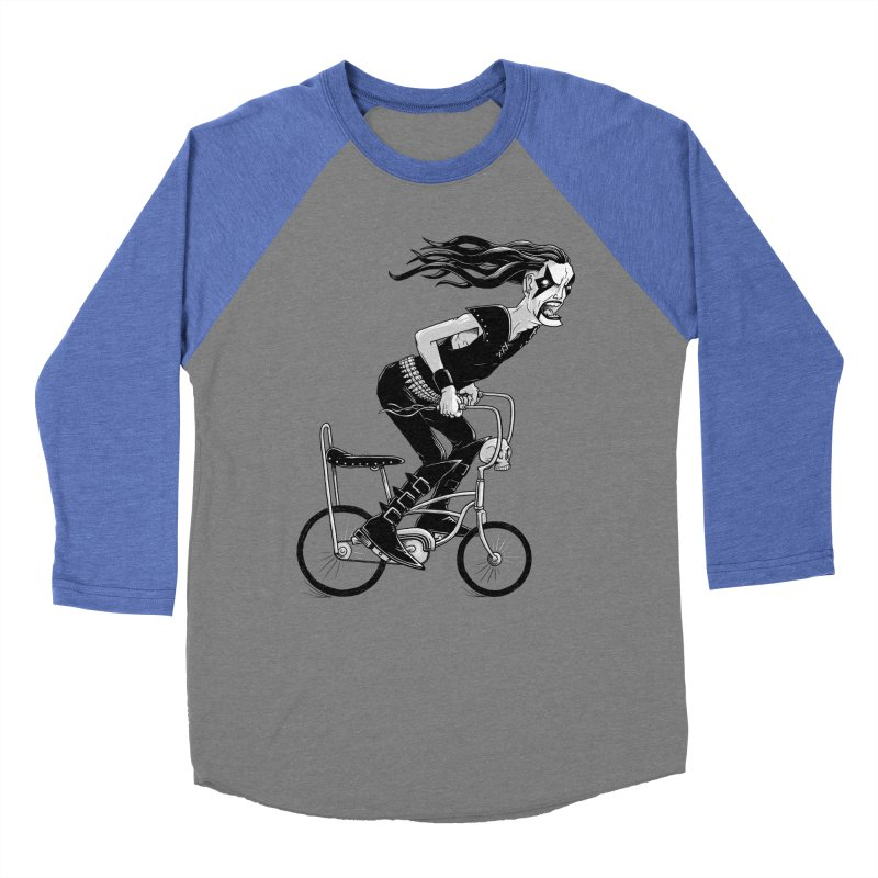 Metal to the Pedal Women's Baseball Triblend T-Shirt by joshbillings's Artist Shop
