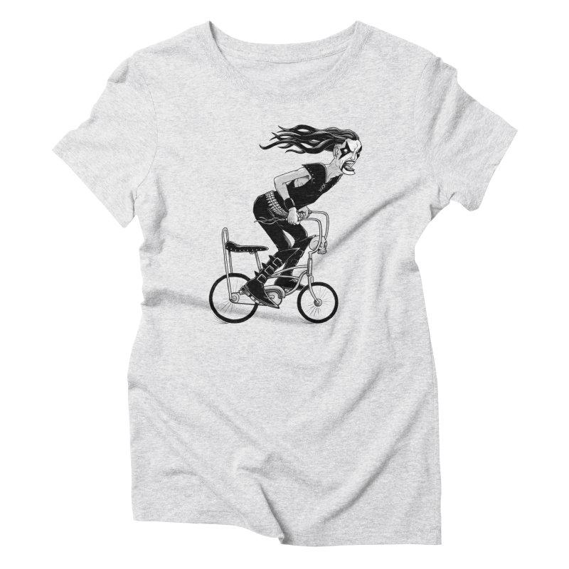Metal to the Pedal Women's T-Shirt by joshbillings's Artist Shop