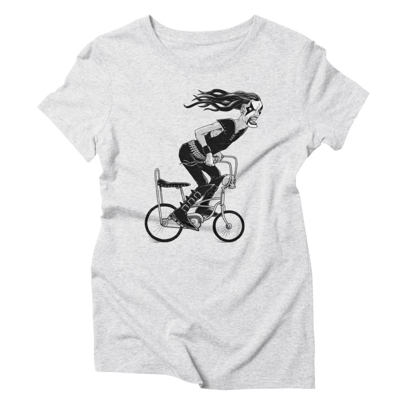 Metal to the Pedal Women's Triblend T-Shirt by joshbillings's Artist Shop