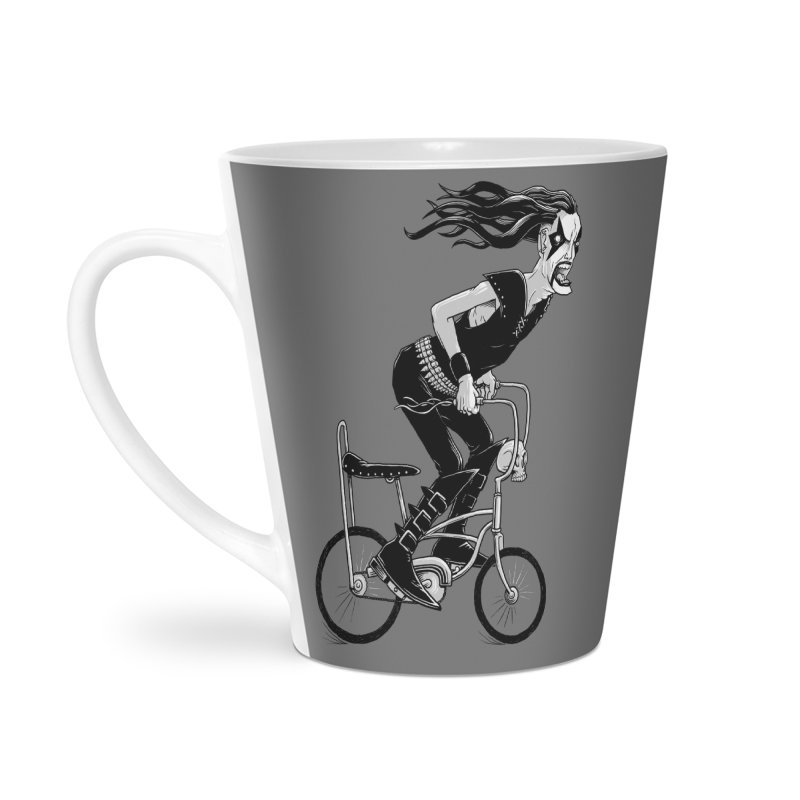 Metal to the Pedal Accessories Latte Mug by joshbillings's Artist Shop