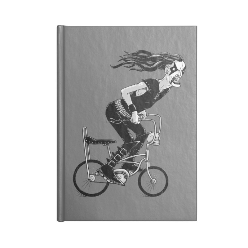Metal to the Pedal Accessories Blank Journal Notebook by joshbillings's Artist Shop