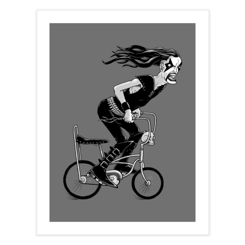 Metal to the Pedal Home Fine Art Print by joshbillings's Artist Shop