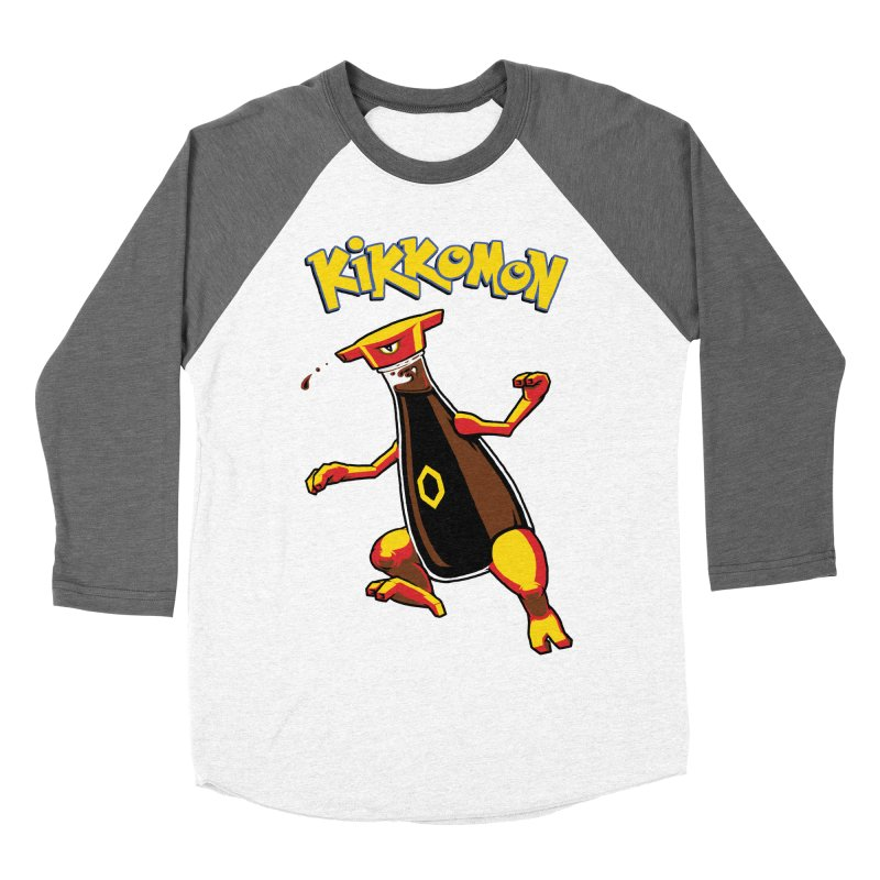 Kikkomon Women's Baseball Triblend T-Shirt by joshbillings's Artist Shop
