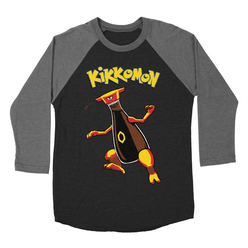 Kikkomon Women's Baseball Triblend Longsleeve T-Shirt by joshbillings's Artist Shop