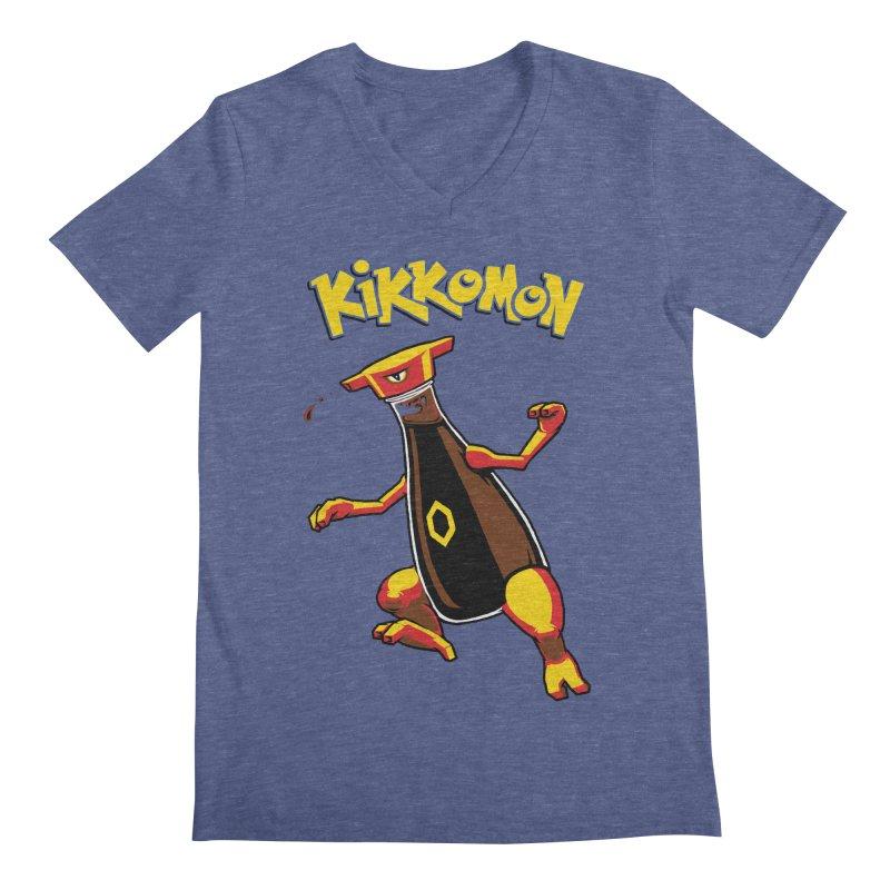 Kikkomon Men's Regular V-Neck by joshbillings's Artist Shop