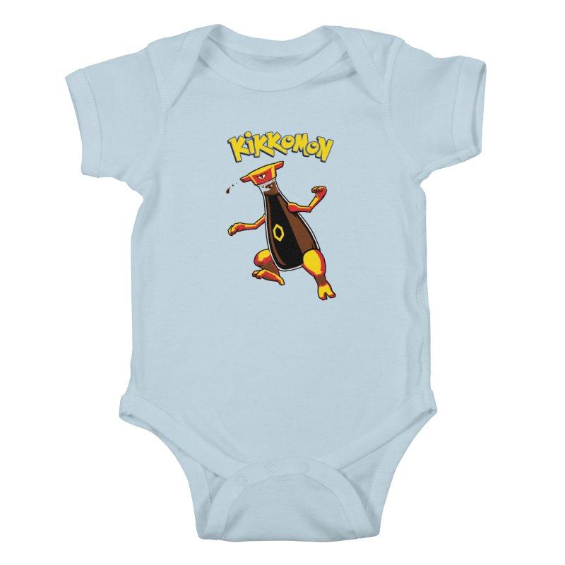 Kikkomon Kids Baby Bodysuit by joshbillings's Artist Shop