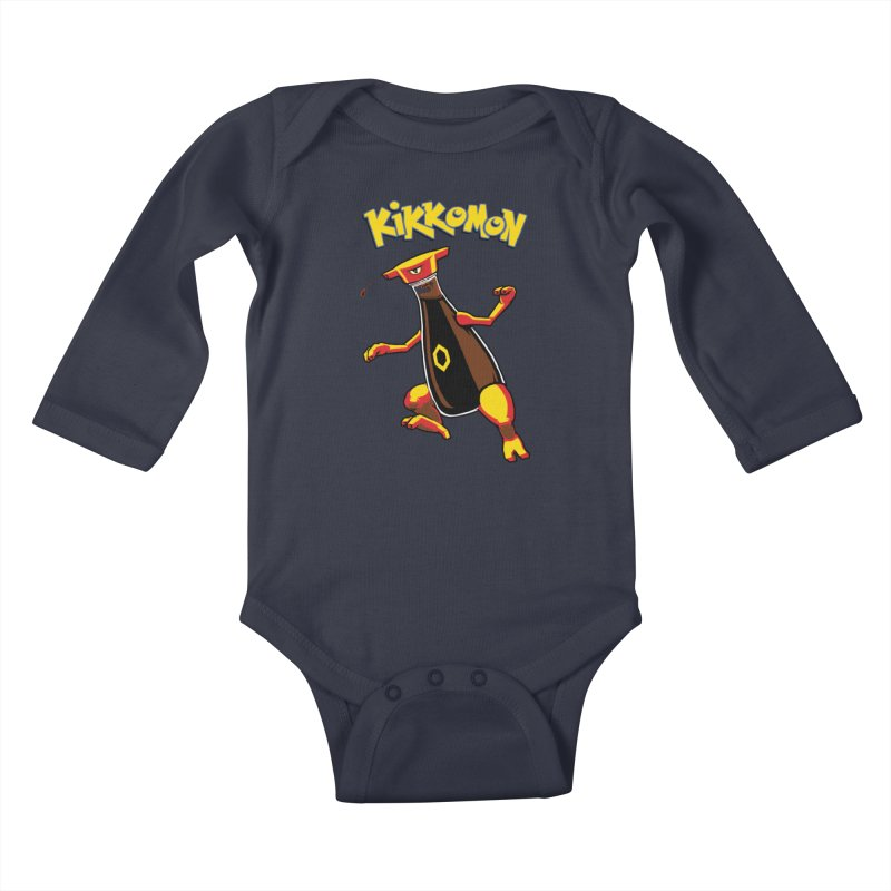 Kikkomon Kids Baby Longsleeve Bodysuit by joshbillings's Artist Shop