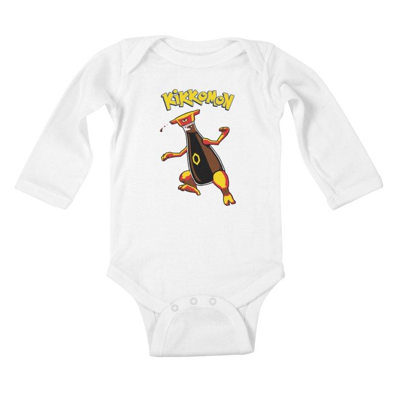 Kikkomon Kids Baby Longsleeve Bodysuit by joshbillings's Artist Shop
