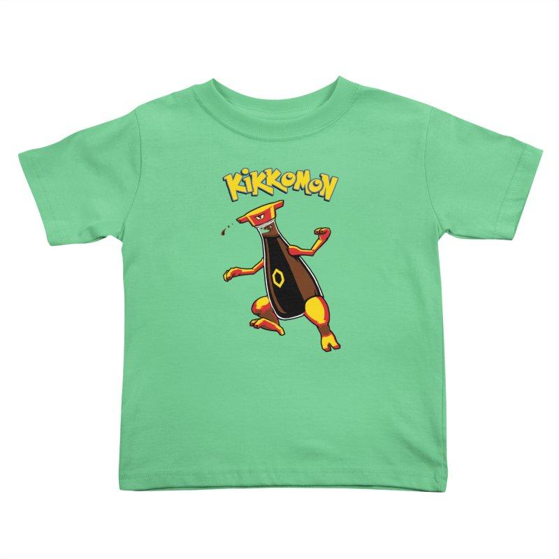 Kikkomon Kids Toddler T-Shirt by joshbillings's Artist Shop