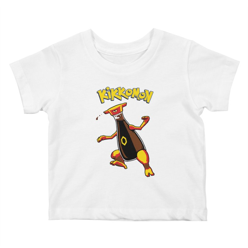 Kikkomon Kids Baby T-Shirt by joshbillings's Artist Shop