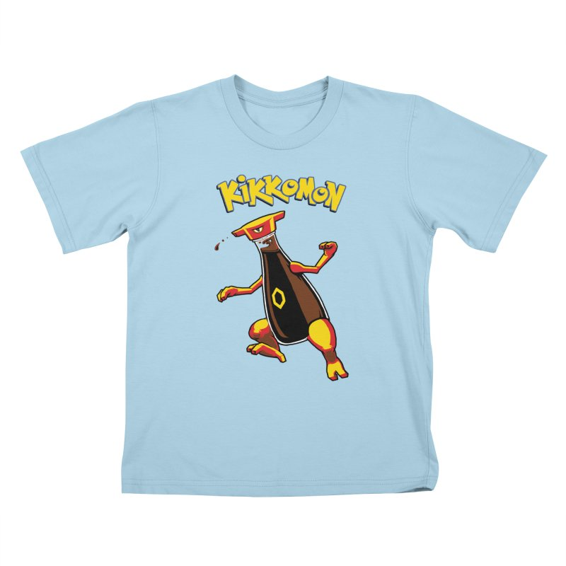 Kikkomon Kids T-Shirt by joshbillings's Artist Shop