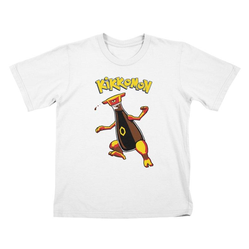Kikkomon Kids T-shirt by joshbillings's Artist Shop
