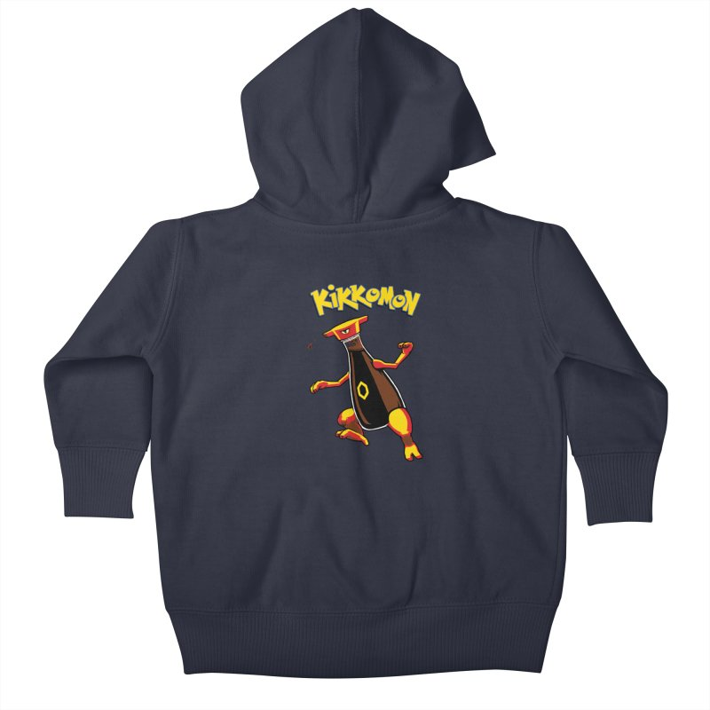 Kikkomon Kids Baby Zip-Up Hoody by joshbillings's Artist Shop