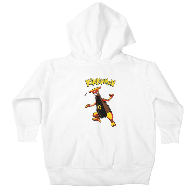 Kikkomon Kids Baby Zip-Up Hoody by joshbillings's Artist Shop