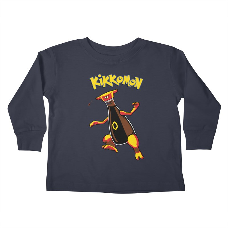 Kikkomon Kids Toddler Longsleeve T-Shirt by joshbillings's Artist Shop