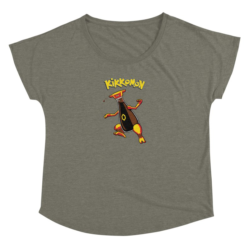 Kikkomon Women's Scoop Neck by joshbillings's Artist Shop