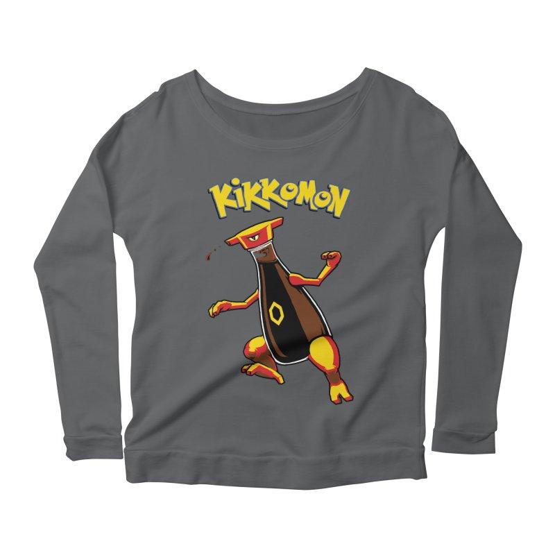 Kikkomon Women's Scoop Neck Longsleeve T-Shirt by joshbillings's Artist Shop