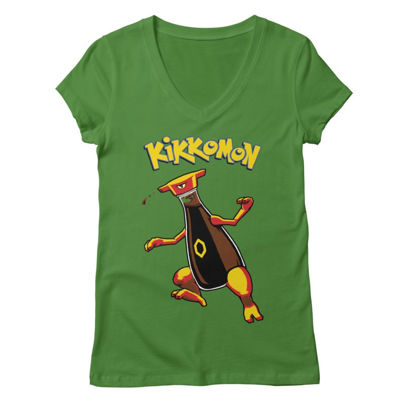 Kikkomon Women's V-Neck by joshbillings's Artist Shop