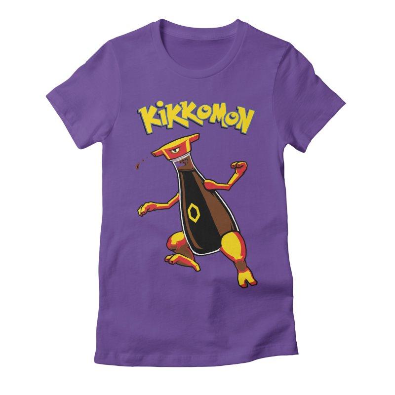 Kikkomon Women's Fitted T-Shirt by joshbillings's Artist Shop
