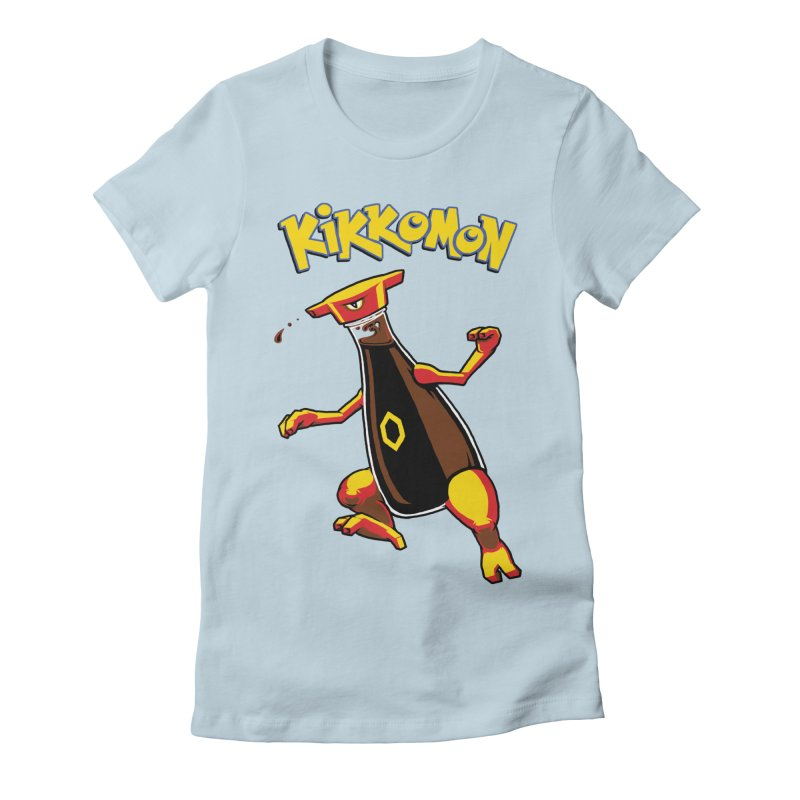 Kikkomon Women's Fitted T-Shirt by joshbillings's Artist Shop