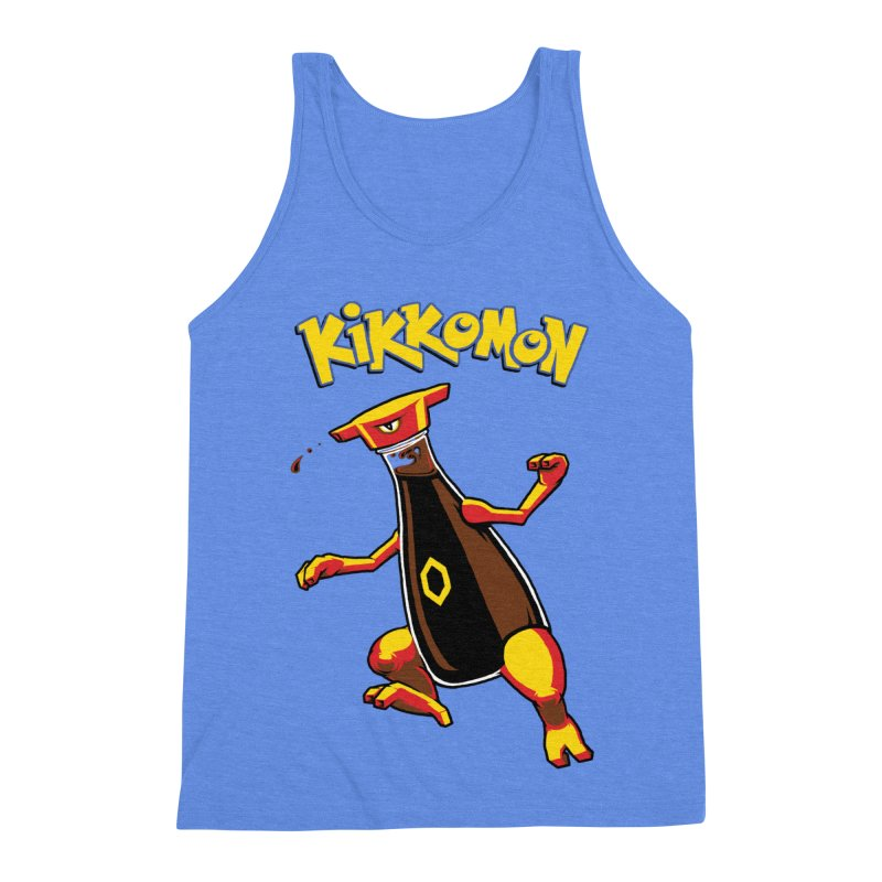 Kikkomon Men's Triblend Tank by joshbillings's Artist Shop