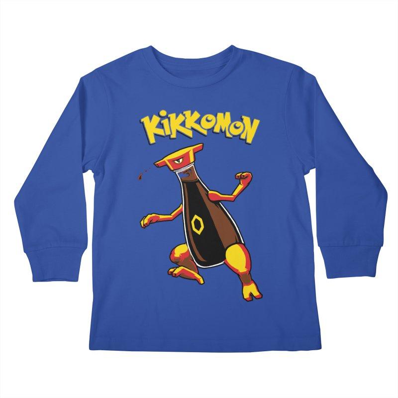 Kikkomon Kids Longsleeve T-Shirt by joshbillings's Artist Shop