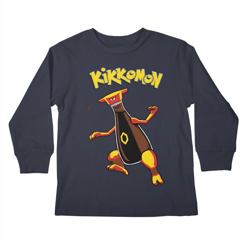 Kikkomon Kids Longsleeve T-Shirt by joshbillings's Artist Shop