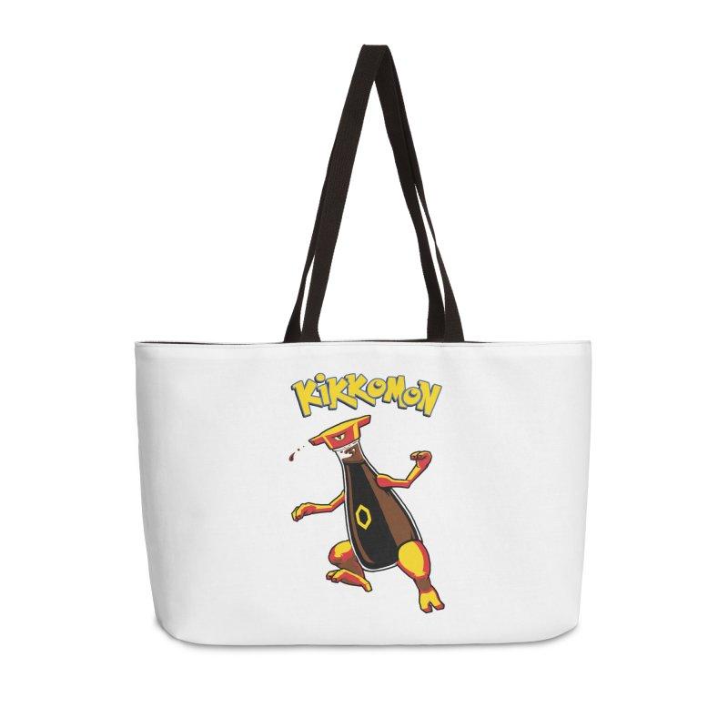 Kikkomon Accessories Weekender Bag Bag by joshbillings's Artist Shop