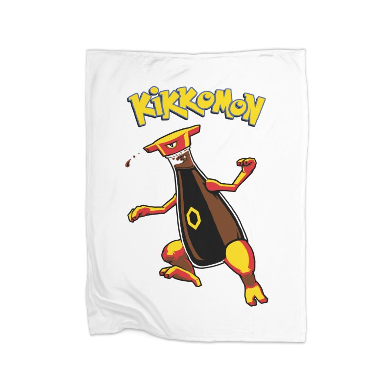 Kikkomon Home Blanket by joshbillings's Artist Shop
