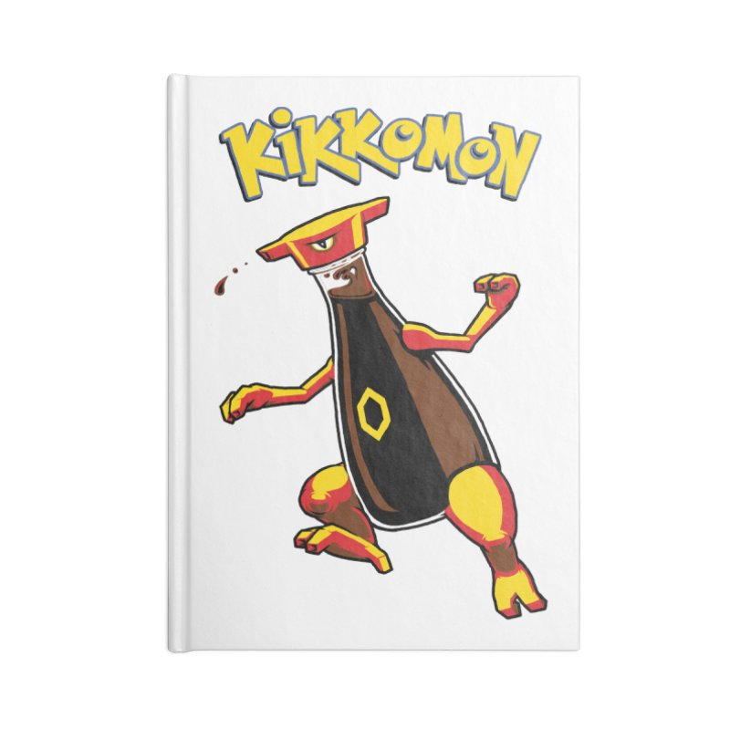 Kikkomon Accessories Notebook by joshbillings's Artist Shop