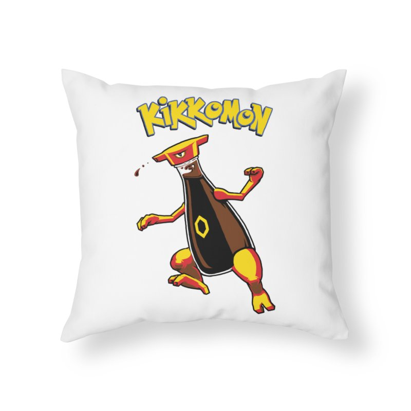 Kikkomon Home Throw Pillow by joshbillings's Artist Shop
