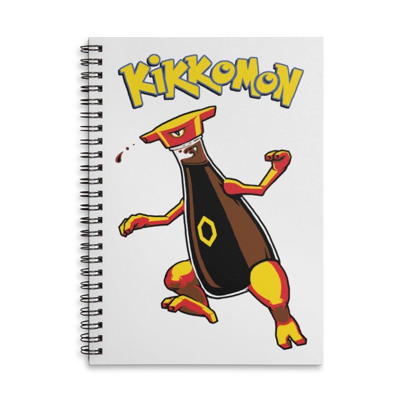 Kikkomon Accessories Notebook by joshbillings's Artist Shop