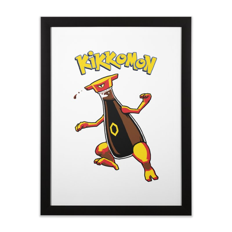 Kikkomon Home Framed Fine Art Print by joshbillings's Artist Shop
