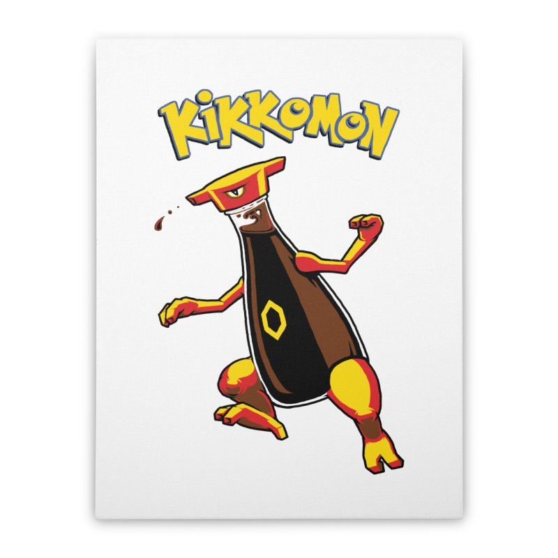 Kikkomon Home Stretched Canvas by joshbillings's Artist Shop